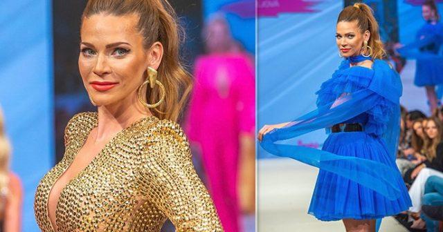b257042f35f4 Andrea Verešová ako hlavná hviezda módnej prehliadky  Diváci sa jej ...